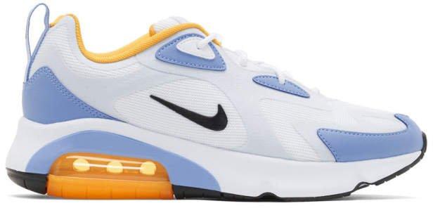 Blue Air Max 200 Sneakers