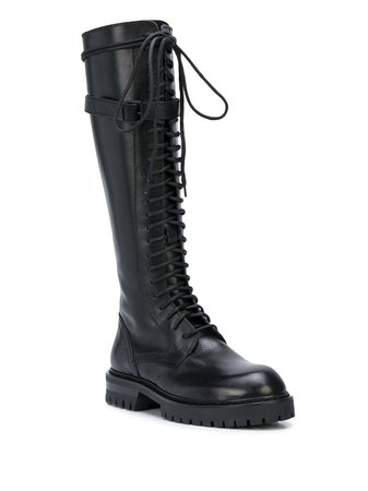Ann Demeulemeester lace-up Boots - Farfetch