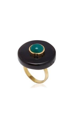 Eduarda Brunelli Orbe Jade Ring