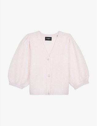 pink puff sleeve cardigan - Google Search