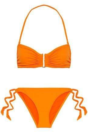 Dahlia Ruched Bandeau Bikini