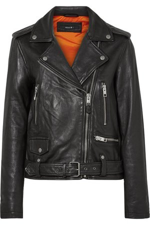 Ksubi | Bad Company leather biker jacket | NET-A-PORTER.COM