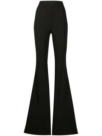 Balmain high-waisted Flared Trousers - Farfetch
