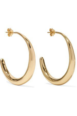 DINOSAUR DESIGNS | Louise Olsen hoop earrings