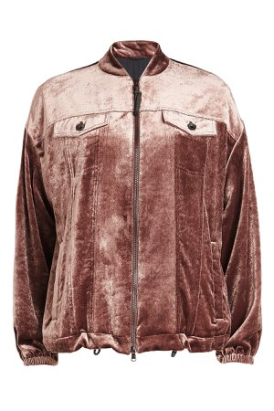 Velour Jacket with Silk Gr. IT 42