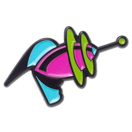 Sourpuss Space ray gun pin