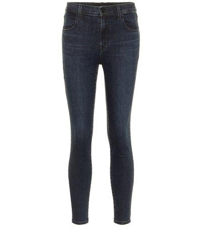 J Brand - Alana cropped high-rise skinny jeans | Mytheresa