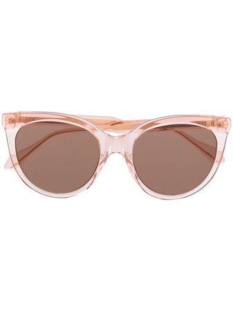 Gucci Eyewear Tinted cat-eye Sunglasses - Farfetch