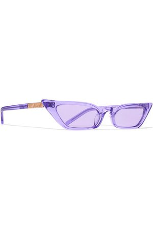 Poppy Lissiman | Le Skinny cat-eye acetate sunglasses | NET-A-PORTER.COM