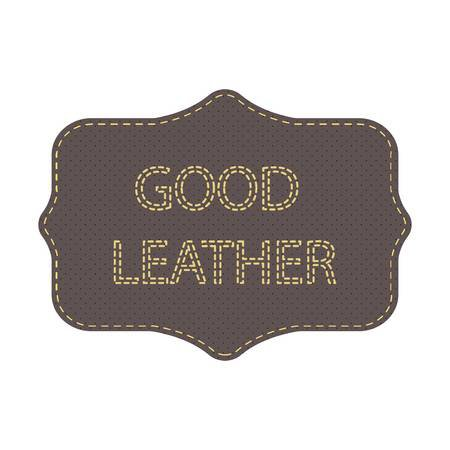 Leather Logo. Tag With The Words Good Leather. Frame And Lettering.. Royalty Free Cliparts, Vectors, And Stock Illustration. Image 72855216.