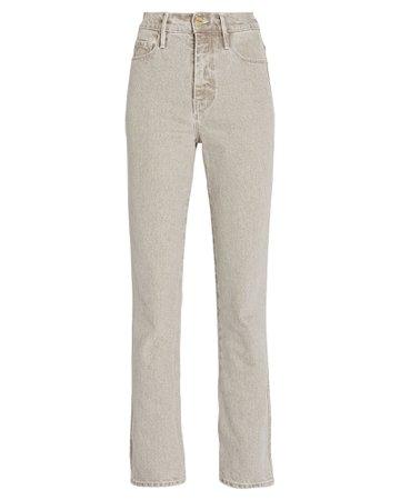 FRAME Le Sylvie Slender Straight-Leg Jeans | INTERMIX®