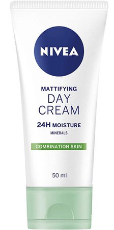 nivea mattifying day cream green