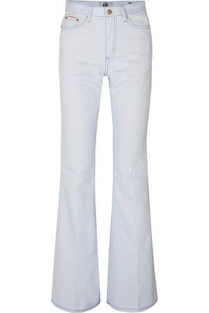 Eytys   Oregon Twill high-rise flared jeans   NET-A-PORTER.COM