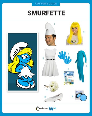 Dress Like Smurfette Costume | Halloween and Cosplay Guides