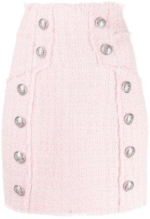 Pink Balmain Skirt