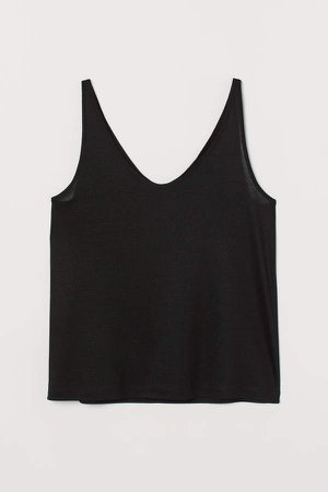 Lyocell Tank Top - Black