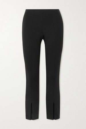Stretch-scuba Leggings - Black