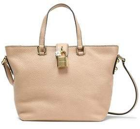 Dolce Small Pebbled-leather Tote
