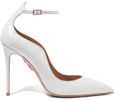 Dolce Vita Leather Pumps - White