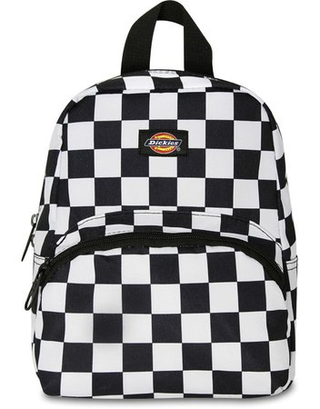 checkered dickies backpack mini