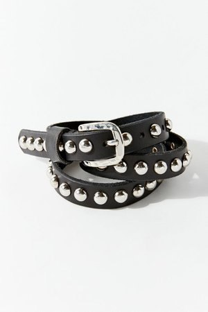 Studded Leather Belt | Urban Outfitters