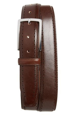 Nordstrom Men's Shop Lowell Leather Belt | Nordstrom