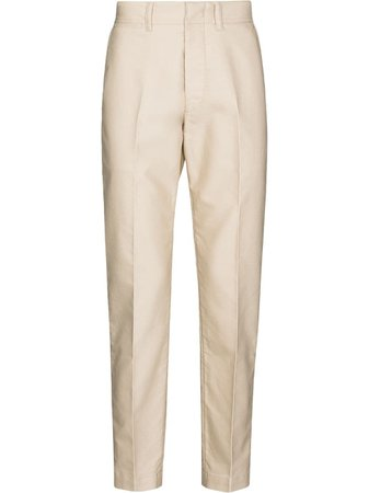 TOM FORD tailored straight-leg trousers - FARFETCH