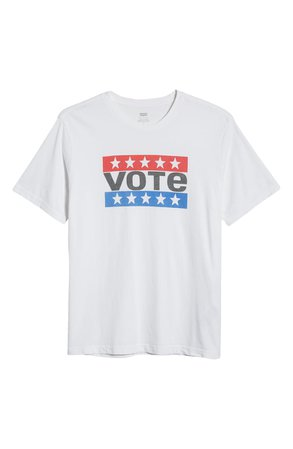 Levi's® x Vote Relaxed Graphic Tee   Nordstrom