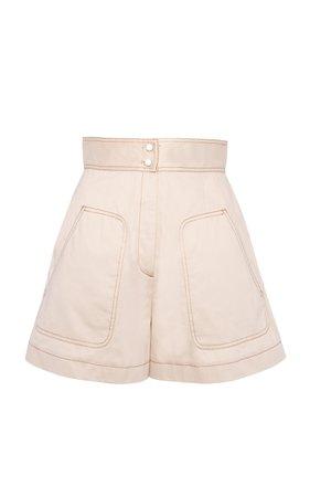 Anna Mason Donna Cotton Short Shorts Size: 14