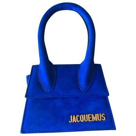 blue Mini Bag JACQUEMUS