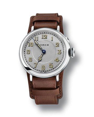 Oris Men's 40mm Big Crown Watch w/ Leather Strap | Neiman Marcus