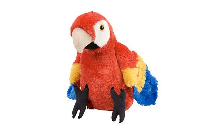 Wild Republic Scarlet Macaw Plush, Stuffed Animal, Plush Toy, Gifts for Kids, Cuddlekins 12 Inches, Animals & Figures - Amazon Canada