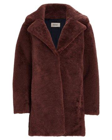 Yves Salomon Oversized Shearling Coat | INTERMIX®