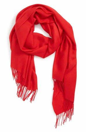 Women's Red Scarves   Nordstrom