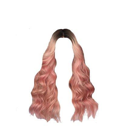 pink hair edit png