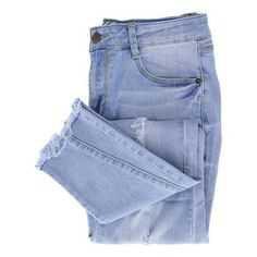 Essie Ultra Distressed Jeans