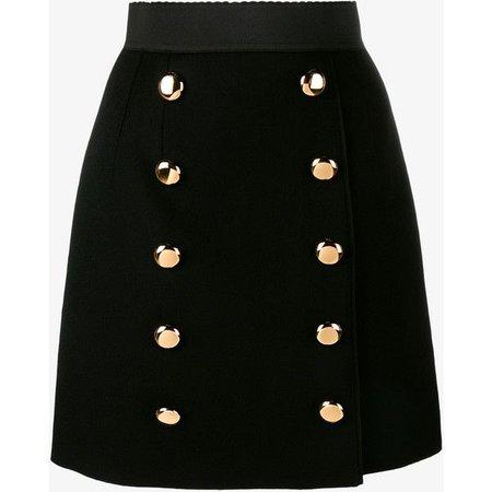 dolce&gabanna black skirt