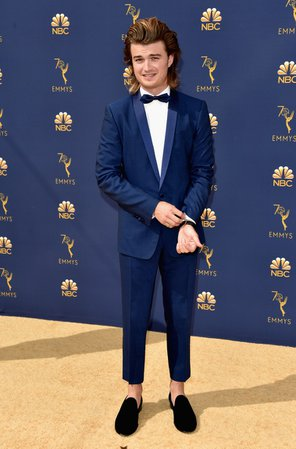 """Emmys 2018: The """"Stranger Things"""" Cast Hits the Red Carpet 