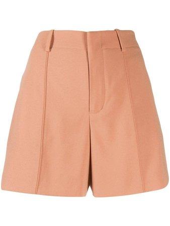high-waisted shorts ORANGE $448.97 CAD Chloé