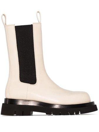 Bottega Veneta The Lug Chunky Sole Boots - Farfetch