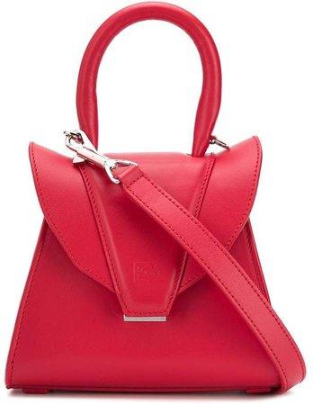 fold-over shoulder bag