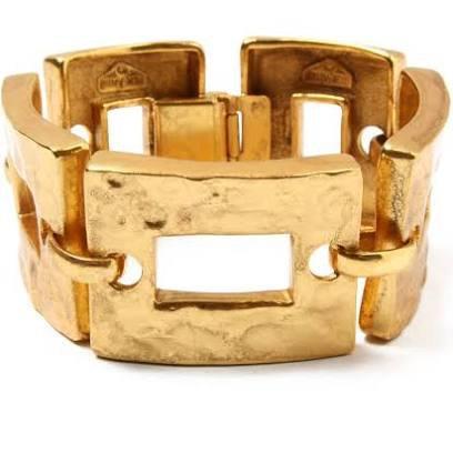 chunky gold link bracelet - Google Search