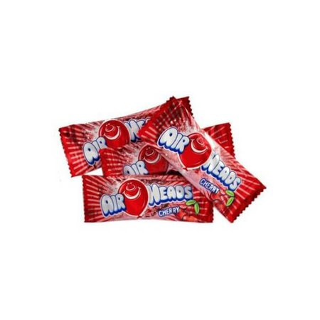 AirHeads Taffy Mini Candy Bars - Cherry: 5LB Bag | Candy Warehouse