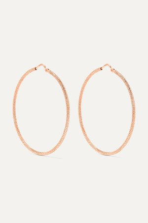 Rose gold Mirador 18-karat rose gold hoop earrings | Carolina Bucci | NET-A-PORTER
