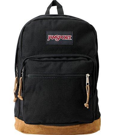 jansport backpack (black)