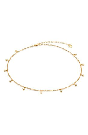 Missoma Intersteller Drop Choker Necklace | Nordstrom