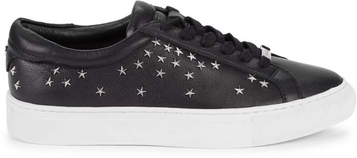 Liberty Embellished Leather Sneakers