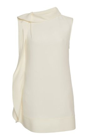 Silk Mini Dress By Valentino | Moda Operandi