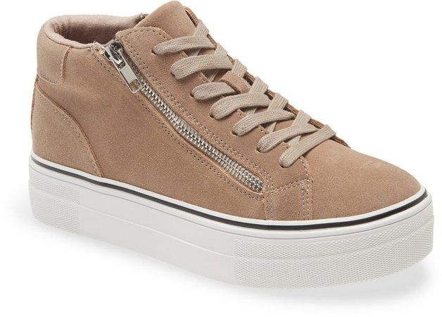 Gryphon Suede High Top Sneaker