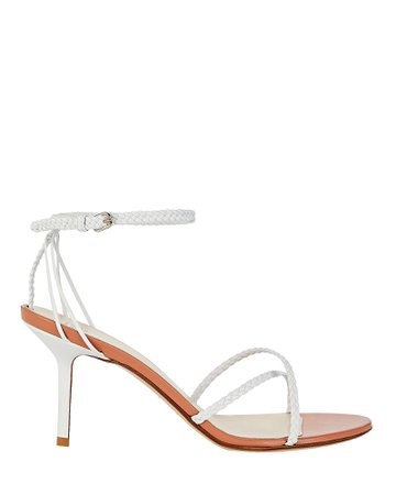 Francesco Russo | Braided Leather Sandals | INTERMIX®